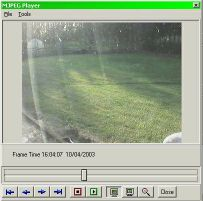 MJPEG player that lets you view recordings from your netcams